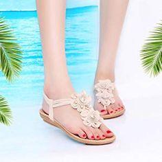 da865f7c58711 Lolittas Summer Boho Beach Women Flip Flops Thong Sandal