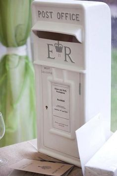 Ivory Royal Mail Post Box