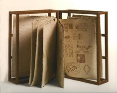 Cool Art, Awesome Art, Paper, Wood, Google Search, Design, Paper Folding, Artist's Book, Wool Yarn