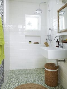 bathroom demolition is enormously important for your home. Whether you pick the bathroom remodel beadboard or bathroom remodeling ideas, you will create the best rebath bathroom remodeling for your own life. Grey Bathroom Floor, Wet Room Bathroom, Bathroom Renos, Laundry In Bathroom, Simple Bathroom, Bathroom Flooring, Bathroom Remodeling, Remodeling Ideas, Bad Inspiration