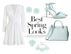 """""""Untitled #24"""" by eslem-molla ❤ liked on Polyvore featuring Dettagli, H&M, Zimmermann, J.Crew, MICHAEL Michael Kors, white and Blue"""