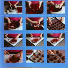 Aquí un paso a paso de como se hacen las bolitas básicas o cake balls.