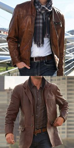 A must-have item for every boy,Street fashion check texture button jacket,gives a natural sense of retro.Free Shipping Over $79+ #mens fashion #mens coats #mens jacket #street fashion #men #mens fall fashion Dope Outfits For Guys, Stylish Mens Outfits, Men's Leather Jacket, Leather Men, Cool Jackets For Men, Mens Clothing Styles, Clothing Apparel, Herren Outfit, Best Mens Fashion