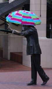 Failed Yarn Bomb? Never! You succeeded in our book. Besides, nothing lasts forever.