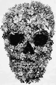 McQueen flowers skull