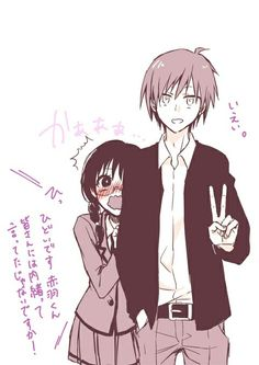 OMG IT'S SOOOO CUTE Why do many hate Okuda? I mean she's soo fucking sweet and wants the best for the class.