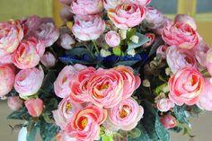 1PC Tea Rose Artificial Silk Flowers Wedding Bouquet Home Party Decor