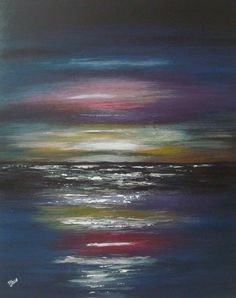 "'Hot shine cold's water' by Tanya Hansen   $100   16""W x 20""H x 0.4""D   Original Art   http://vng.io/l/2HiJj-U-8Y @VangoArt"