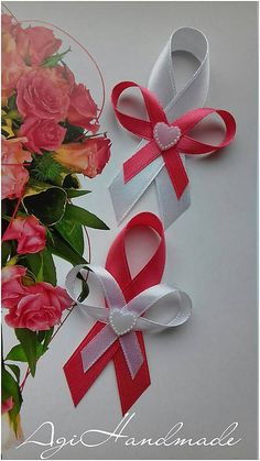 Diy Ribbon, Corsages, Hangers, 3, Bridal Dresses, Gift Wrapping, Decoration, Rose, Gifts