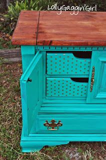 Items similar to SOLD Teal Dresser/Buffet/Entertainment Center on Etsy Repurposed Furniture, Shabby Chic Furniture, Painted Furniture, Diy Furniture, Teal Dresser, Stained Dresser, Furniture Restoration, Antique Stores, Colorful Furniture
