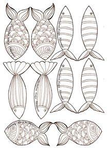 les coloriages des petits poissons - Paper doll Rose et… - calendrier de… - Le mémo du marché - Les coquetiers de… - Petits paniers de… - Guirlande de… - Poupées de papier - dans mon bocal