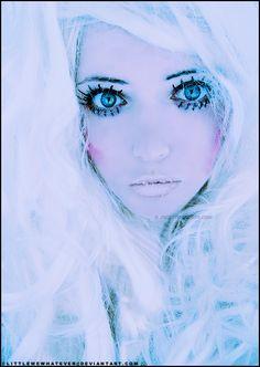 Frozen Marie Antoinette by *littlemewhatever