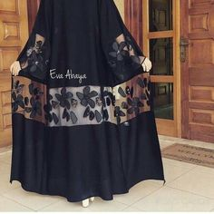 Abaya Style 298082069083028469 - Source by amxnxm Iranian Women Fashion, Islamic Fashion, Muslim Fashion, Modest Fashion, Fashion Dresses, Abaya Designs, Abaya Mode, Abaya Pattern, Mode Kimono