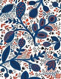 print  pattern: SURTEX 2014 - flyers part one