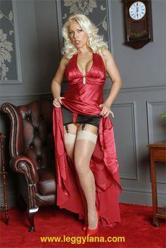 Leggy Lana in red3
