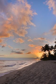 "Ewa Beach Sunset. Ewa Beach is located along the leeward coast of Oahu in Hawaii.  The word ""ʻewa"" means ""crooked"" in Hawaiian."