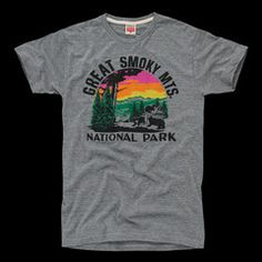 Great Smoky Mountains National Park T-Shirt | HOMAGE