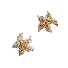 For all the starfish girls! :) JCrew has these earrings, a ring and necklace. Hello Mother's Day?