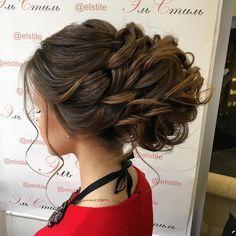 updo wedding hairstyle #bridalhair #weddinghair #bridetobe #hairstyles #updos #hair