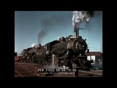 UNION PACIFIC RAILROAD BIG BOY STEAM LOCOMOTIVE FILM  71522