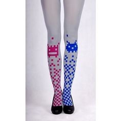 Pixelated Tights #accessories