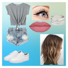 """""""Summer outfit #2"""" by captain-shizuko on Polyvore featuring One Teaspoon, WithChic, Luminess Air and Charlotte Russe"""