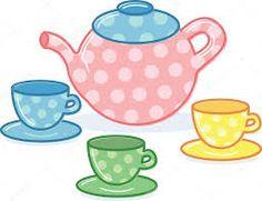 Resultado de imagen para silueta de taza con plato