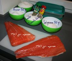 "Sabor en cristal: Cooking for ""Torpes"" nº 31. Salmón marinado"
