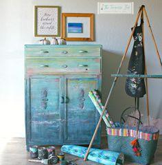 The Turquoise Iris ~ Furniture & Art