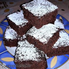 Breakfast Recipes, Dessert Recipes, Desserts, Hungarian Recipes, Holiday Dinner, Kakao, Food To Make, Food And Drink, Menu