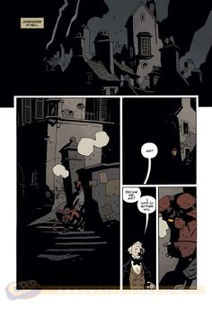 Preview: Hellboy in Hell #5, Page 1 of 3 - Comic Book Resources