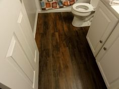 vinyl peel and stick flooring. whaaat?