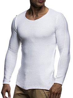 LEIF NELSON Men's Cardigan - Grey - Medium