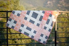 Fawn baby quilt, made by From Marta with Love. Pattern from Handmade Style by Anna Graham.