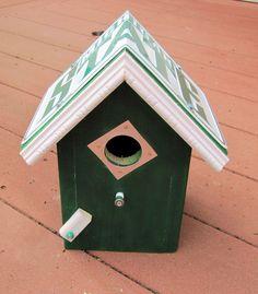 Michigan Wolverines Bird House