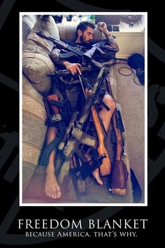 Airsoft hub is a social network that connects people with a passion for airsoft. Talk about the latest airsoft guns, tactical gear or simply share with others on this network Rifles, Gun Humor, Gun Meme, Military Humor, Army Humor, Military Life, Cool Guns, Awesome Guns, Guns And Ammo