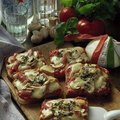 Pizza-Toast mit Schinken Rezept
