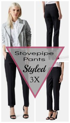 How to wear stovepipe pants #fashion #style