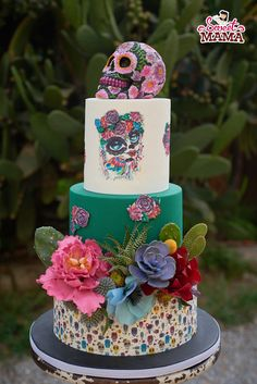 Rustic Mexican Wedding Cake