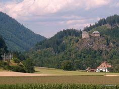 Dürnstein Castle in Styria, Austria