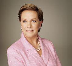 Julie Andrews. Always loved her (: I wanna have that much grace and strength and her age