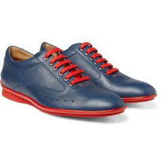 BW- Alanta Braves 2   John Lobb Aston Martin Leather Sneakers | MR PORTER $970 Dress your night at the park up with these.