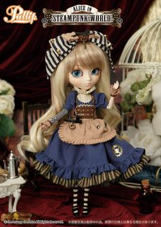Pullip Dolls: ALICE in STEAMPUNK WORLD - A Rinkya Blog