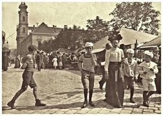 1910-es évek. Batthyány tér.