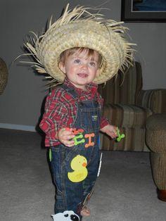 DIY Halloween costume for toddlers! Old MacDonald...