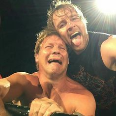 Dean and Y2J aww poor Jericho