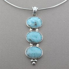 High Quality Cushion Shape Natural Larimar Gemstone Handmade Cabochon Use For Gold /& Silver Jewelry Making For Unisex 5 Ct 17X8X4