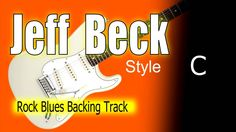 Rock Blues Guitar Backing Track Jeff Beck Highest Quality