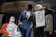 Sacha Baron Cohen and Ed Sanders in 'Sweeney Todd'