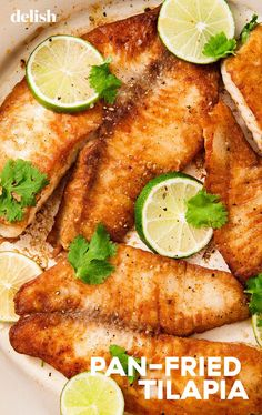 Looking for Seafood Recipes for dinner. Here are easy & best Tilapia Fish recipes for Dinner. These Tilapia Fish recipes are extremely healthy & delicious. Fish Recipes Healthy Tilapia, Best Fish Recipes, Fried Fish Recipes, Salmon Recipes, Healthy Recipes, Best Tilapia Recipe, Talapia Recipes Baked, Talipia Recipes, Tilapia Fillet Recipe